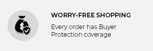 Worry-free shopping